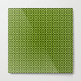 Fragment collection : Green apple Metal Print