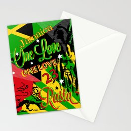 Reggae Rasta Party Stationery Cards