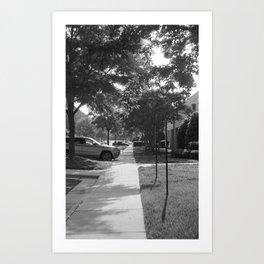 A long path Art Print