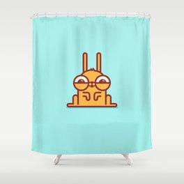 Cute Rabbit Shower Curtain
