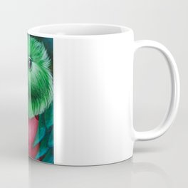 QUETZAL BIRD CLOSE UP PAINTING Coffee Mug