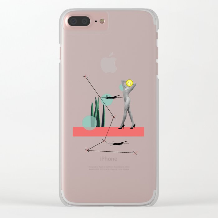 wrong path to selflessness Clear iPhone Case