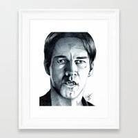 bill Framed Art Prints featuring Bill by ShayMacMorran