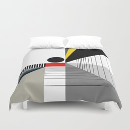 BLACK POINT Duvet Cover