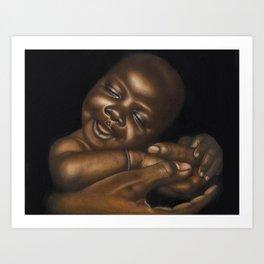 Cradle of Love Art Print