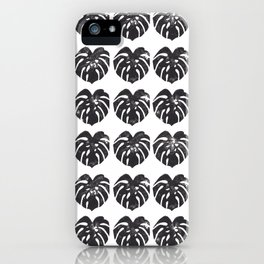 Monstera leaf iPhone Case