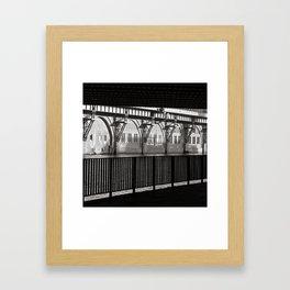 Jannowitzbruecke - Berlin - B&W Framed Art Print