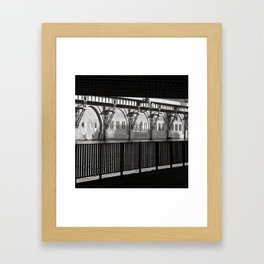Jannowitz-Bridge - Berlin Framed Art Print