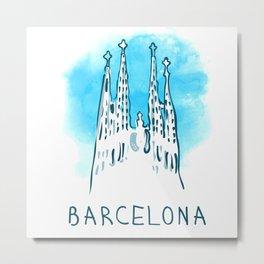 Barcelona 02 Metal Print