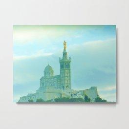 Notre Dame de la Garde (Marseille) Metal Print