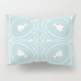 White Rabbits Pillow Sham