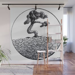 Its a Tree in a Circle Wall Mural