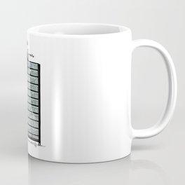 LITTLE DREAMS, BIG BOOKCASE Coffee Mug