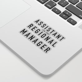 Assistant (to the) Regional Manager - The Office Sticker