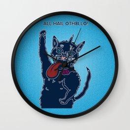 All Hail Othello (the cat) Wall Clock