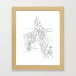 beegarden.works 003 Framed Art Print