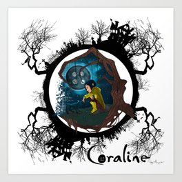Coraline Art Prints For Any Decor Style Society6