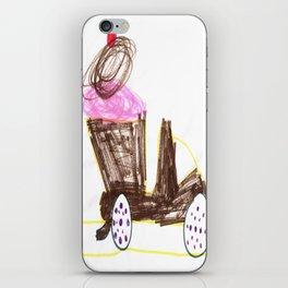 Ice Cream Sundae Dump Truck iPhone Skin