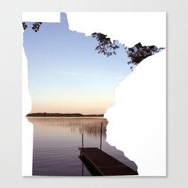 Lake Minnesota Canvas Print
