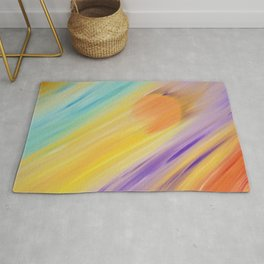 """Catch the Sun #1 – Sequel #1"" Oil Painting Rug"