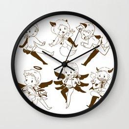 SUPERNATURAL SAM DEAN CASTIEL Wall Clock