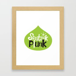 Sputnik Plunk Framed Art Print