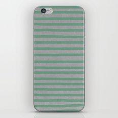 Concrete & Stripes iPhone & iPod Skin