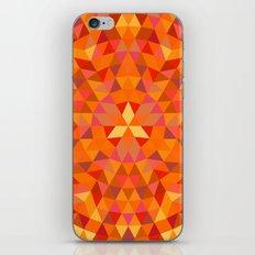 Triangle Sun Mandala iPhone & iPod Skin