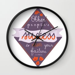 other people's success... Wall Clock