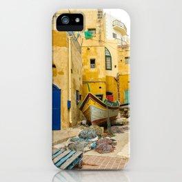 Alley in Xlendi iPhone Case