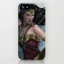 She's a Wonder... iPhone Case