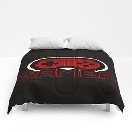 Red Gamer Comforters