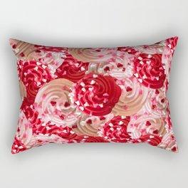 Tickle Me Pick Cream of Hearts Rectangular Pillow