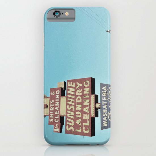 Sunshine Laundry Cleaning iPhone & iPod Case
