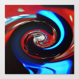Swirling colors 04 Canvas Print