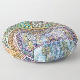 Karim Khani Nook of Golestan in Tehran, Iran Floor Pillow