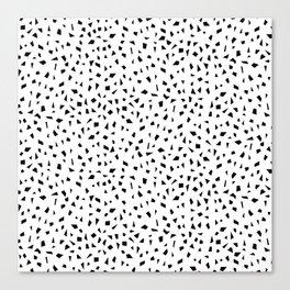 Shapes | Fun Pattern | Geometric Minimalism Canvas Print