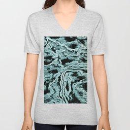 Abstract liquid Unisex V-Neck
