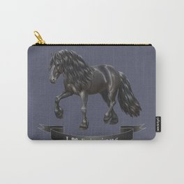 I Love Friesian Horses Carry-All Pouch