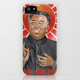 Religion in North Korea iPhone Case