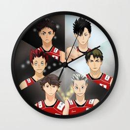 Haikyuu Dream Team Wall Clock