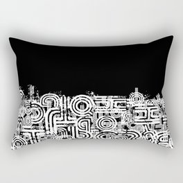 Disorganized Speech #4 Rectangular Pillow