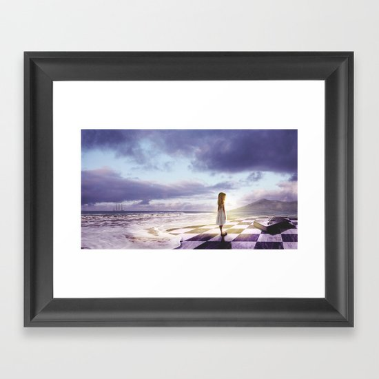 The Lost Story Framed Art Print
