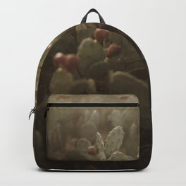 Cacti on Beach in Israel Backpack
