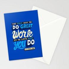RIP Steve Jobs Stationery Cards