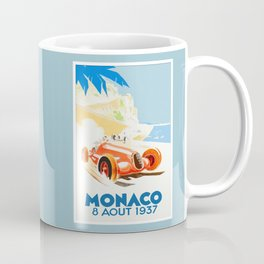 Grand Prix Monaco 1937 Coffee Mug