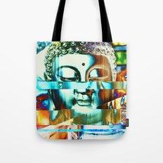 Glitch Buddha #3 Tote Bag