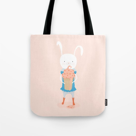 Fiona and Her Carrot Cake Ice Cream Cone Tote Bag