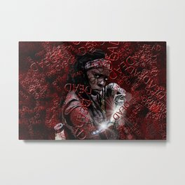 Walking Dead: Michonne Metal Print