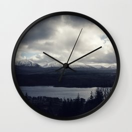 Late Winter in the Trossachs Wall Clock
